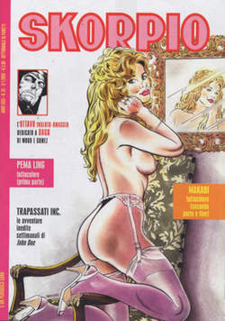 Copertina SKORPIO ANNO 31 n.52 - SKORPIO 2007            52, EDITORIALE AUREA