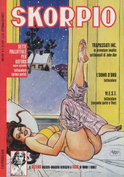 Copertina SKORPIO ANNO 31 n.3 - SKORPIO 2007             3, EDITORIALE AUREA