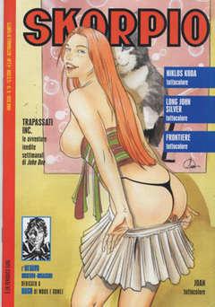 Copertina SKORPIO ANNO 32 n.10 - SKORPIO 2008            10, EDITORIALE AUREA