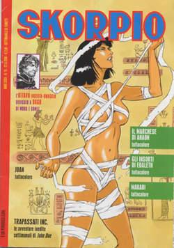 Copertina SKORPIO ANNO 32 n.15 - SKORPIO 2008            15, EDITORIALE AUREA