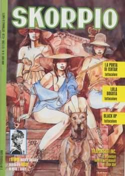 Copertina SKORPIO ANNO 32 n.45 - SKORPIO 2008            45, EDITORIALE AUREA