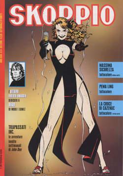 Copertina SKORPIO ANNO 32 n.8 - SKORPIO 2008             8, EDITORIALE AUREA