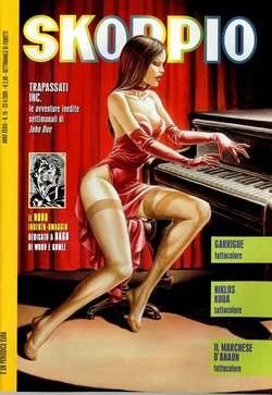 Copertina SKORPIO ANNO 33 n.16 - SKORPIO 2009            16, EDITORIALE AUREA
