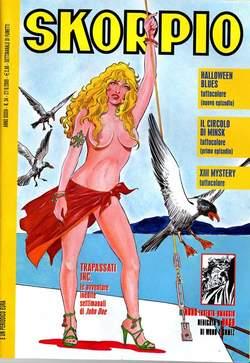 Copertina SKORPIO ANNO 33 n.34 - SKORPIO 2009            34, EDITORIALE AUREA