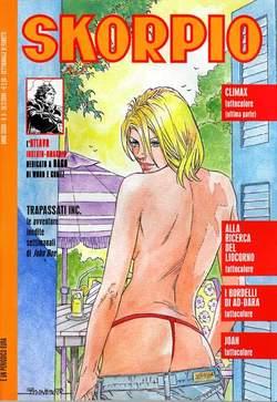 Copertina SKORPIO ANNO 33 n.8 - SKORPIO 2009             8, EDITORIALE AUREA