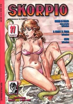 Copertina SKORPIO ANNO 34 n.36 - SKORPIO 2010            36, EDITORIALE AUREA