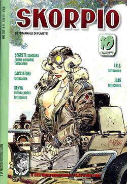 Copertina SKORPIO ANNO 34 n.41 - SKORPIO 2010            41, EDITORIALE AUREA
