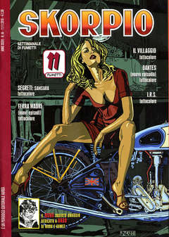 Copertina SKORPIO ANNO 34 n.44 - SKORPIO 2010            44, EDITORIALE AUREA