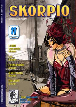 Copertina SKORPIO ANNO 34 n.48 - SKORPIO 2010            48, EDITORIALE AUREA