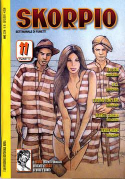 Copertina SKORPIO ANNO 34 n.50 - SKORPIO 2010            50, EDITORIALE AUREA