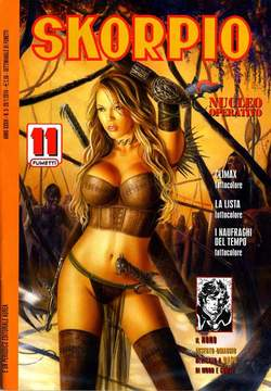 Copertina SKORPIO ANNO 34 n.3 - SKORPIO 2010             3, EDITORIALE AUREA