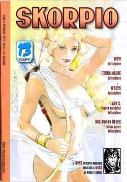 Copertina SKORPIO ANNO 34 n.9 - SKORPIO 2010             9, EDITORIALE AUREA