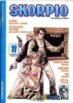 Copertina SKORPIO ANNO 35 n.16 - SKORPIO 2011             16, EDITORIALE AUREA
