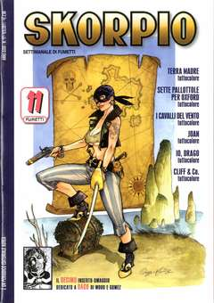 Copertina SKORPIO ANNO 35 n.17 - SKORPIO 2011             17, EDITORIALE AUREA
