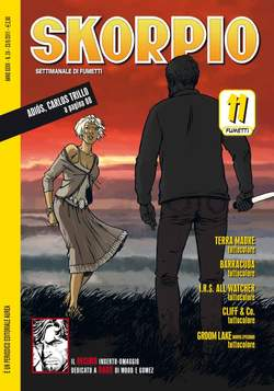 Copertina SKORPIO ANNO 35 n.24 - SKORPIO 2011             24, EDITORIALE AUREA