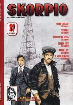 Copertina SKORPIO ANNO 35 n.31 - SKORPIO 2011             31, EDITORIALE AUREA
