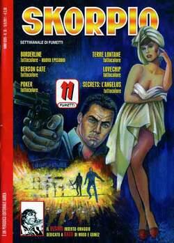 Copertina SKORPIO ANNO 35 n.36 - SKORPIO 2011             36, EDITORIALE AUREA
