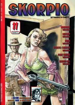 Copertina SKORPIO ANNO 35 n.37 - SKORPIO 2011             37, EDITORIALE AUREA