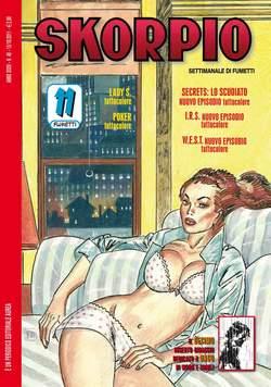 Copertina SKORPIO ANNO 35 n.40 - SKORPIO 2011             40, EDITORIALE AUREA