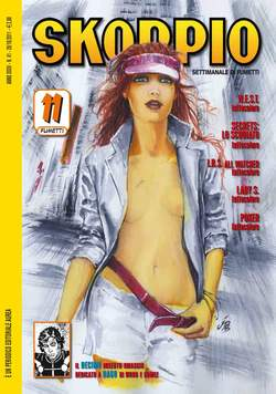 Copertina SKORPIO ANNO 35 n.41 - SKORPIO 2011             41, EDITORIALE AUREA