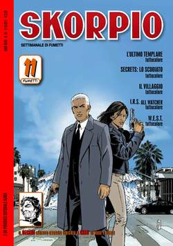 Copertina SKORPIO ANNO 35 n.44 - SKORPIO 2011             44, EDITORIALE AUREA