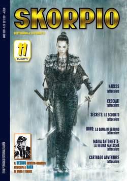 Copertina SKORPIO ANNO 35 n.50 - SKORPIO 2011             50, EDITORIALE AUREA