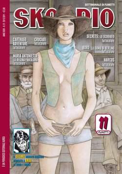 Copertina SKORPIO ANNO 35 n.51 - SKORPIO 2011             51, EDITORIALE AUREA