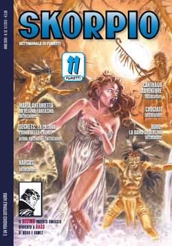 Copertina SKORPIO ANNO 35 n.52 - SKORPIO 2011             52, EDITORIALE AUREA