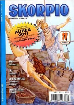 Copertina SKORPIO ANNO 35 n.1 - SKORPIO 2011             1, EDITORIALE AUREA