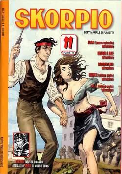 Copertina SKORPIO ANNO 35 n.6 - SKORPIO 2011             6, EDITORIALE AUREA