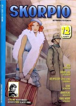 Copertina SKORPIO ANNO 35 n.8 - SKORPIO 2011             8, EDITORIALE AUREA