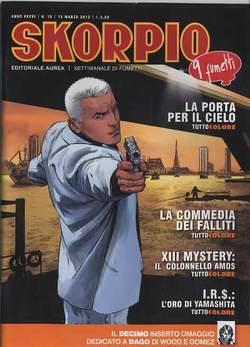 Copertina SKORPIO ANNO 36 n.10 - SKORPIO 2012             10, EDITORIALE AUREA