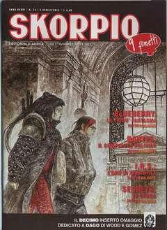 Copertina SKORPIO ANNO 36 n.13 - SKORPIO 2012             13, EDITORIALE AUREA