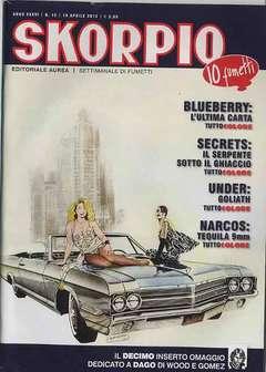 Copertina SKORPIO ANNO 36 n.15 - SKORPIO 2012             15, EDITORIALE AUREA
