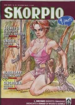 Copertina SKORPIO ANNO 36 n.16 - SKORPIO 2012             16, EDITORIALE AUREA