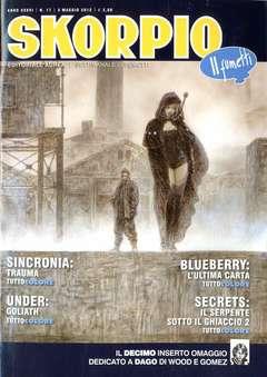 Copertina SKORPIO ANNO 36 n.17 - SKORPIO 2012             17, EDITORIALE AUREA