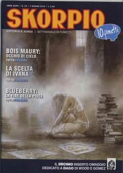 Copertina SKORPIO ANNO 36 n.22 - SKORPIO 2012             22, EDITORIALE AUREA