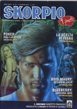 Copertina SKORPIO ANNO 36 n.23 - SKORPIO 2012             23, EDITORIALE AUREA