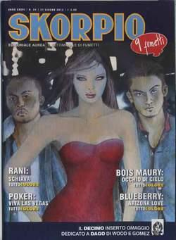 Copertina SKORPIO ANNO 36 n.24 - SKORPIO 2012             24, EDITORIALE AUREA