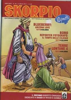 Copertina SKORPIO ANNO 36 n.26 - SKORPIO 2012             26, EDITORIALE AUREA