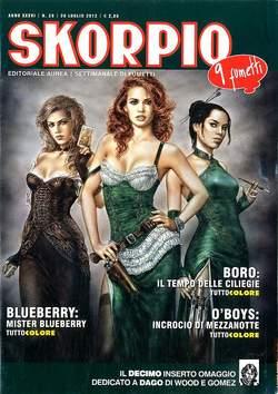 Copertina SKORPIO ANNO 36 n.29 - SKORPIO 2012             29, EDITORIALE AUREA