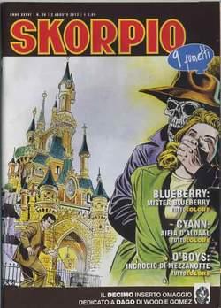 Copertina SKORPIO ANNO 36 n.30 - SKORPIO 2012             30, EDITORIALE AUREA