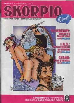 Copertina SKORPIO ANNO 36 n.32 - SKORPIO 2012             32, EDITORIALE AUREA