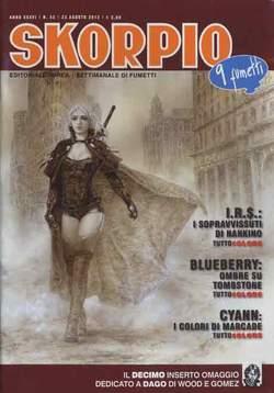Copertina SKORPIO ANNO 36 n.33 - SKORPIO 2012             33, EDITORIALE AUREA