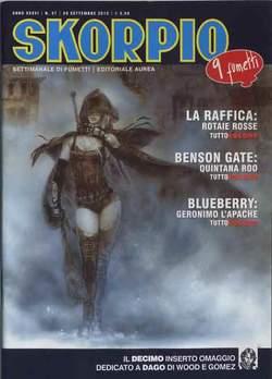 Copertina SKORPIO ANNO 36 n.37 - SKORPIO 2012             37, EDITORIALE AUREA