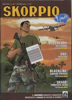 Copertina SKORPIO ANNO 36 n.39 - SKORPIO 2012             39, EDITORIALE AUREA