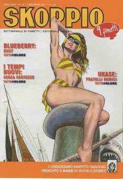 Copertina SKORPIO ANNO 36 n.44 - SKORPIO 2012             44, EDITORIALE AUREA