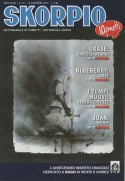Copertina SKORPIO ANNO 36 n.45 - SKORPIO 2012             45, EDITORIALE AUREA