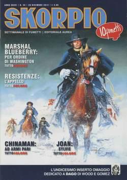 Copertina SKORPIO ANNO 36 n.50 - SKORPIO 2012             50, EDITORIALE AUREA