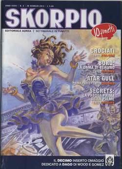Copertina SKORPIO ANNO 36 n.3 - SKORPIO 2012             3, EDITORIALE AUREA